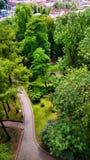 Πάρκο στο Hill του Castle σε Cieszyn Στοκ Φωτογραφία