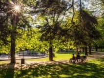Πάρκο στο rovereto στοκ φωτογραφίες