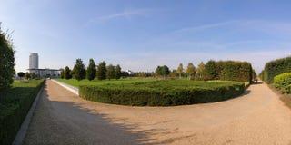 πάρκο Τάμεσης εμποδίων Στοκ Εικόνα