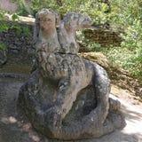 Πάρκο τεράτων σε Bomarzo, Βιτέρμπο - Ιταλία Στοκ Φωτογραφία