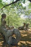 Πάρκο τεράτων σε Bomarzo, Βιτέρμπο - Ιταλία Στοκ εικόνες με δικαίωμα ελεύθερης χρήσης