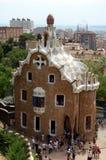 πάρκο της Βαρκελώνης guell Στοκ Εικόνα