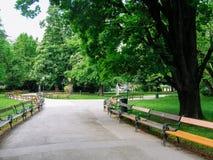 Πάρκο της Βιέννης στοκ φωτογραφία με δικαίωμα ελεύθερης χρήσης