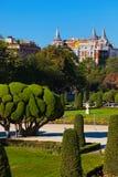 Πάρκο της ευχάριστης υποχώρησης στη Μαδρίτη Ισπανία Στοκ φωτογραφίες με δικαίωμα ελεύθερης χρήσης
