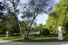 Πάρκο της Λισσαβώνας, Λισσαβώνα, παλαιά Λισσαβώνα, Σάντα Κλάρα, στο χωριό Ameixoeira, Λισσαβώνα, Πορτογαλία Στοκ εικόνα με δικαίωμα ελεύθερης χρήσης