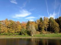 Πάρκο της Ρωσίας Άγιος-Πετρούπολη Pavlovskiy Στοκ Εικόνα