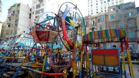 Πάρκο της Luna στην Αλεξάνδρεια, Αίγυπτος απόθεμα βίντεο
