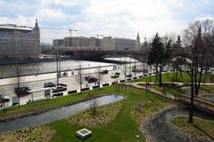 Πάρκο τοπίων της Μόσχας apse Πόλη Στοκ Εικόνες