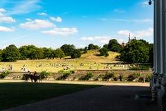Πάρκο του Γκρήνουιτς στο Λονδίνο στοκ εικόνες με δικαίωμα ελεύθερης χρήσης