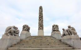 πάρκο του Όσλο vigeland Στοκ φωτογραφίες με δικαίωμα ελεύθερης χρήσης