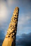 πάρκο του Όσλο vigeland Στοκ Φωτογραφίες