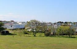 Πάρκο τροχόσπιτων ή ρυμουλκών Στοκ φωτογραφία με δικαίωμα ελεύθερης χρήσης