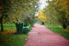 Πάρκο φθινοπώρων Στοκ εικόνα με δικαίωμα ελεύθερης χρήσης