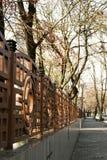 πάρκο φραγών Στοκ Εικόνα