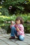 πάρκο φυσαλίδων Στοκ εικόνες με δικαίωμα ελεύθερης χρήσης