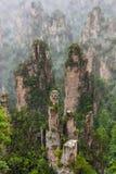 Πάρκο φύσης βουνών ειδώλων Tianzi - Wulingyuan Κίνα στοκ φωτογραφία