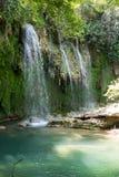 Πάρκο φύσης καταρρακτών Kursunlu κοντά σε Antalya Στοκ Εικόνες