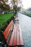 πάρκο 2 πάγκων Στοκ φωτογραφία με δικαίωμα ελεύθερης χρήσης
