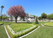 Πάρκο Arkeolojik Sultanahmet Στοκ εικόνα με δικαίωμα ελεύθερης χρήσης