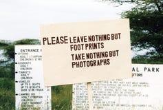 Πάρκο Awash στοκ φωτογραφίες με δικαίωμα ελεύθερης χρήσης