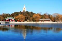 πάρκο beihai Στοκ φωτογραφία με δικαίωμα ελεύθερης χρήσης