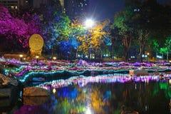 Πάρκο Benchasiri Στοκ Εικόνα