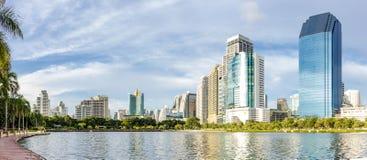 Πάρκο Benjakiti στη Μπανγκόκ Ταϊλάνδη Στοκ Φωτογραφία
