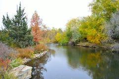 Πάρκο Boise Αϊντάχο Albertson φυλλώματος πτώσης Στοκ εικόνες με δικαίωμα ελεύθερης χρήσης