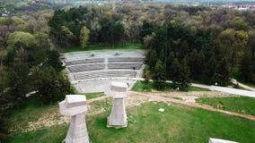 Πάρκο Bubanj εναέρια άποψη των ΝΑΚ, Σερβία απόθεμα βίντεο