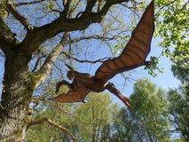 Πάρκο Dinozaur Στοκ φωτογραφία με δικαίωμα ελεύθερης χρήσης
