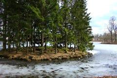 Πάρκο Ekaterininskiy Στοκ Φωτογραφία