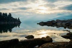Πάρκο Ellison κοντά σε Βερνόν BC Στοκ εικόνες με δικαίωμα ελεύθερης χρήσης