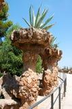 Πάρκο Güell που σχεδιάζεται από τον καταλανικό αρχιτέκτονα Antoni Güell στη Βαρκελώνη, Ισπανία. Στοκ Φωτογραφίες