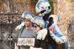 Πάρκο Guell Βαρκελώνη Στοκ Φωτογραφίες