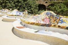 Πάρκο Guell στοκ εικόνα