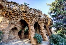 Πάρκο Guell στη Βαρκελώνη, καμία Στοκ φωτογραφία με δικαίωμα ελεύθερης χρήσης