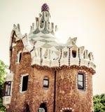 Πάρκο Guell στη Βαρκελώνη. Καταλωνία, Ισπανία Στοκ φωτογραφία με δικαίωμα ελεύθερης χρήσης