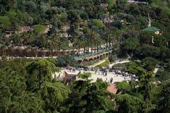 Πάρκο Guell στοκ εικόνα με δικαίωμα ελεύθερης χρήσης