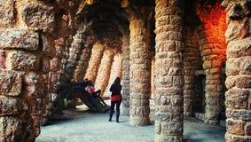 Πάρκο Guell Στοκ Εικόνες