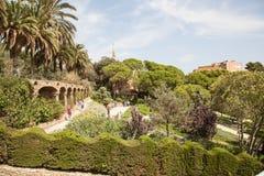 Πάρκο Guell στοκ φωτογραφίες με δικαίωμα ελεύθερης χρήσης