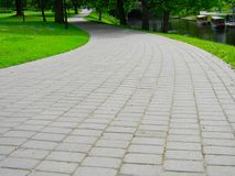 Πάρκο Hill προμαχώνων Στοκ εικόνα με δικαίωμα ελεύθερης χρήσης