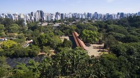 Πάρκο Ibirapuera ` s Στοκ φωτογραφία με δικαίωμα ελεύθερης χρήσης
