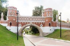 Πάρκο inTsaritsyno γεφυρών Στοκ Φωτογραφία
