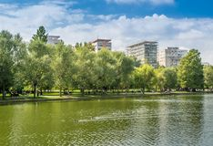 Πάρκο Ioan Cuza Alexandru στοκ φωτογραφία