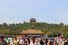 Πάρκο Jingshan στην απαγορευμένη πόλη Στοκ εικόνα με δικαίωμα ελεύθερης χρήσης