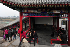 Πάρκο Jingshan στο Πεκίνο Κίνα Στοκ Φωτογραφία