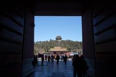 Πάρκο Jingshan στο Πεκίνο Στοκ φωτογραφία με δικαίωμα ελεύθερης χρήσης