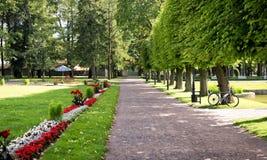 Πάρκο Kadriorg στο Ταλίν, Εσθονία στοκ φωτογραφίες με δικαίωμα ελεύθερης χρήσης