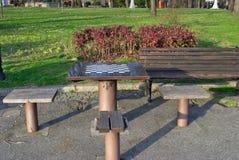 Πάρκο Kalemegdan - σκάκι Στοκ Φωτογραφίες