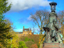 Πάρκο Kelvingrove - Γλασκώβη, Σκωτία Στοκ εικόνα με δικαίωμα ελεύθερης χρήσης